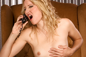 Screaming phone sex